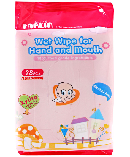 Farlin - Wet Wipes for Hand & Mouth