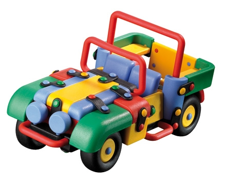 Mic O Mic Off - Road Vehicle - Plastic toy
