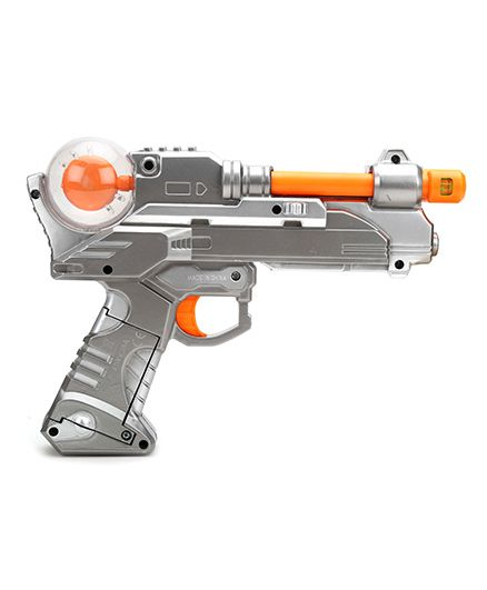 Simba Planet Fighter Light Shooter Gun - Silver