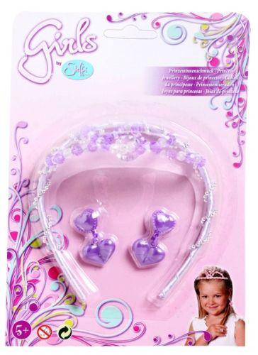 Steffi Love Jewellery Set Of Earrings And Tiara Crown