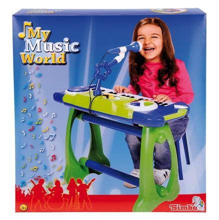 Simba My Music World Standing Keyboard - 52 Cm