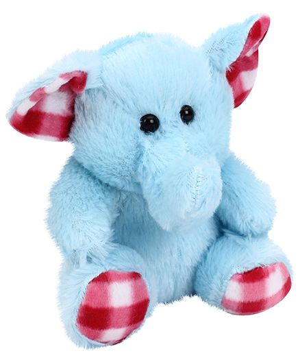 Playtoons Cute Elephant Blue - Height 6 inches