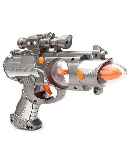 Simba Planet Fighter Light Shooter Gun - Grey