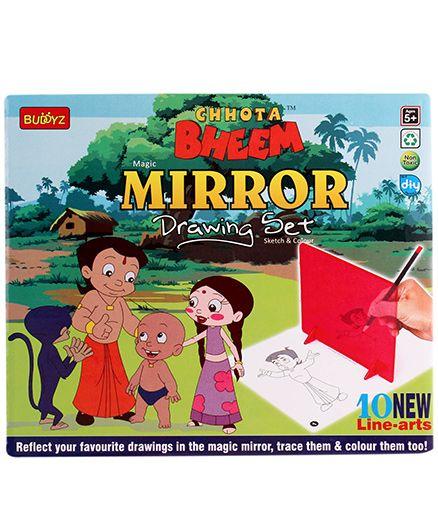 Chhota Bheem DIY Mirror Drawing Set - Multicolor