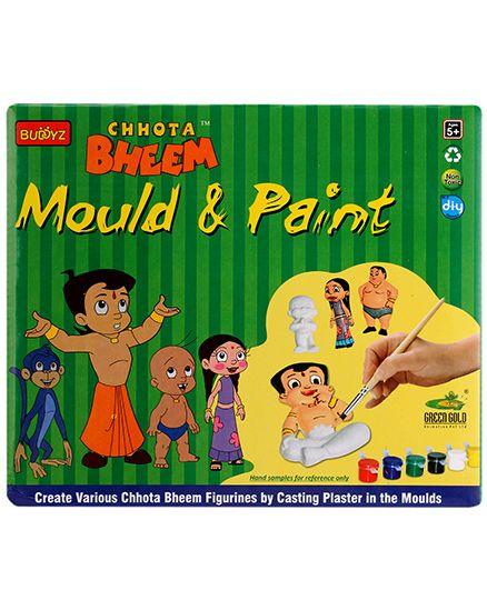 Chhota Bheem DIY Mould & Paint - Multicolor