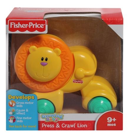 Fisher-Price - Growing Baby - Press & Crawl Lion
