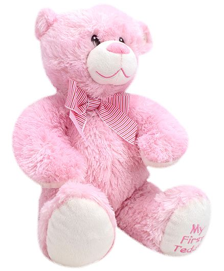 Classic Sweet Teddy Bear Pink - Height 13 Inch