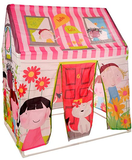Intex Friendship Play Tent - Pink And Multicolour