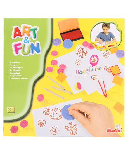 Simba Art And Fun Stamp Set - Multicolour