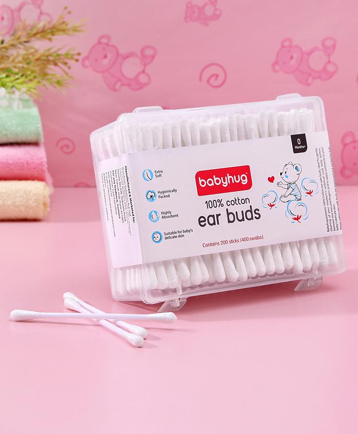 Babyhug Cotton Buds - 200 Pieces