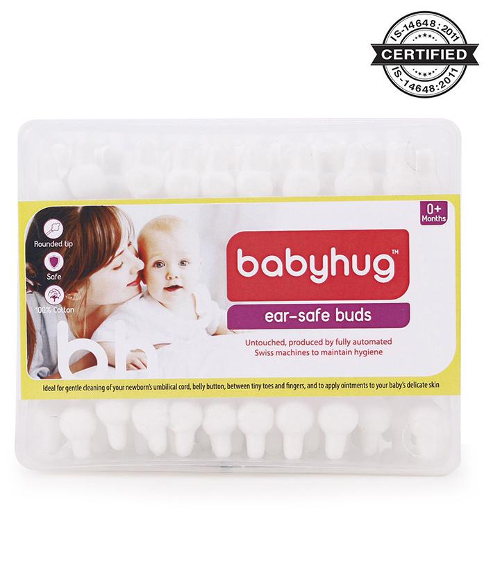 Babyhug Cotton Buds - 55 Pieces