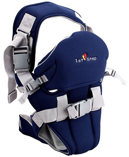 1st Step 2 Way Baby Carrier Blue - ST-3004 BL