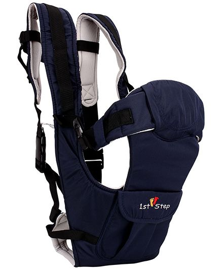 1st Step 5 Way Baby Carrier Navy Blue - ST-3009