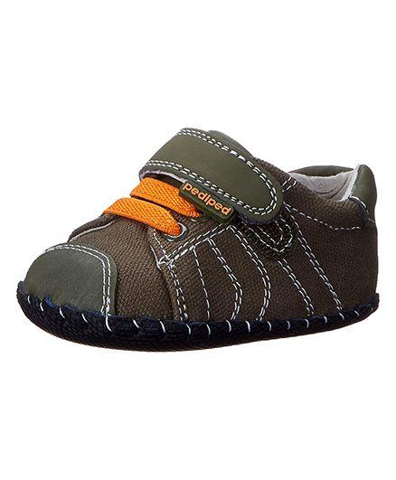 Pediped Jake Shoes - Olive Orange