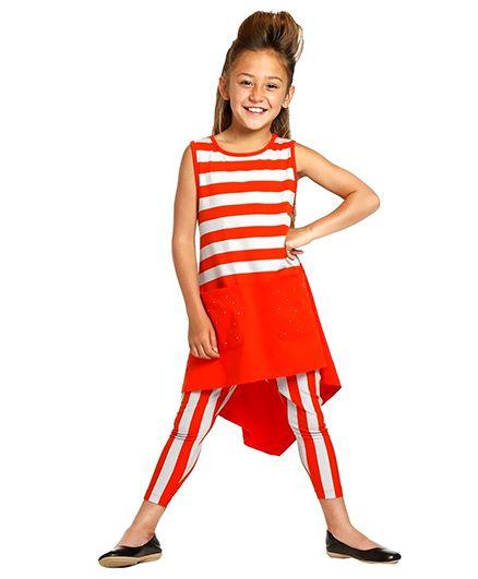 Melinda Dress - Orange