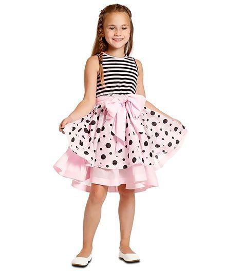 Angelina Dress - Pink