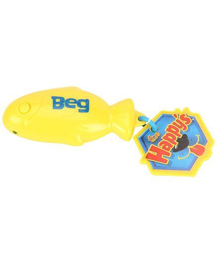 Simba Happy Trick Treat Fish Shape Yellow - Length 7 cm