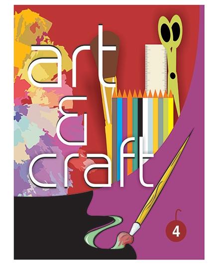 Art And Craft Book 4 - English