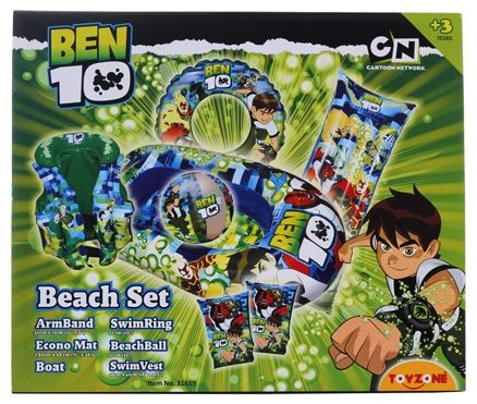 Toyzone - Ben 10 Beach Set