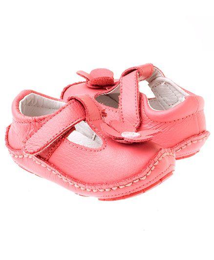 Rileyroos Gabriella In Rose Baby Shoe - Pink