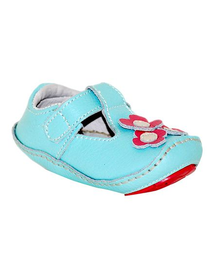 Rileyroos Daisy In Capri Baby Shoe - Blue