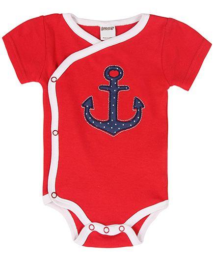 Judazy Anchors Away Bodysuit - Red