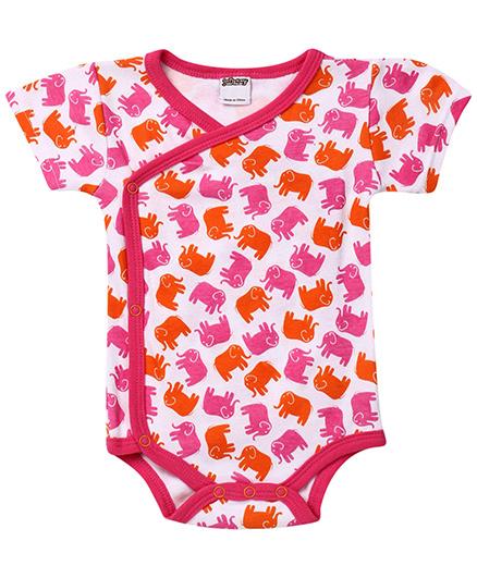 Judanzy Ellie Elephant Bodysuit�- Orange And Pink
