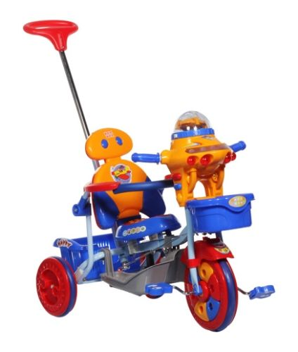 Mee Mee Baby Tricycle With Push Handle Blue - 890