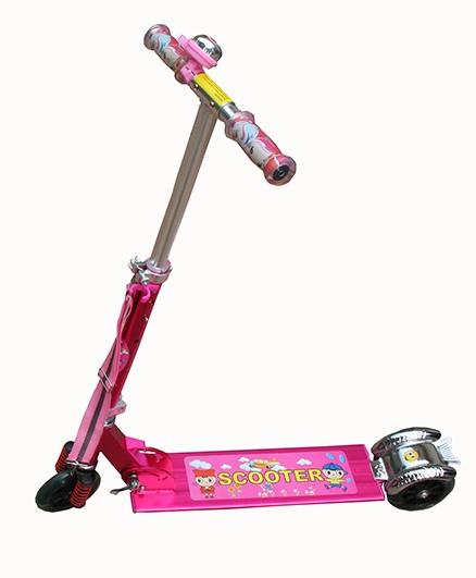 Adraxx Power Suspension Scooter - Pink