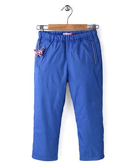 Sela Full Length Polyfill Pant - Blue
