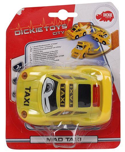 Dickie Freewheel Mad Taxi - Yellow