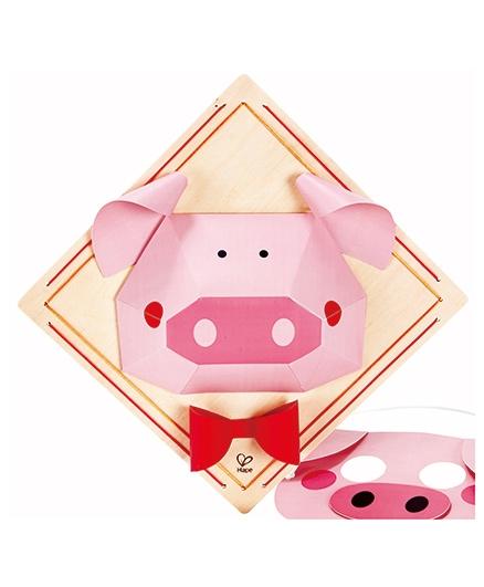 Hape Piggy Mode Craft Kit - 12 Pieces