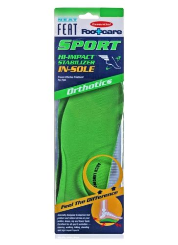 Neat Feat Sport Hi-Impact Stabilizer In-Sole Orthotics