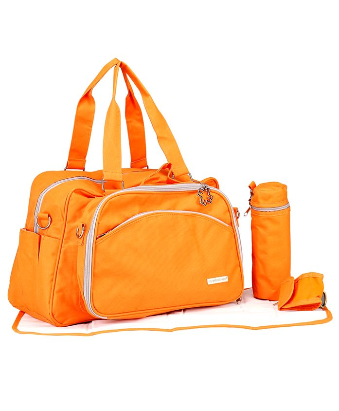 My Milestones - Diaper Bag - Duo Deatch Orange