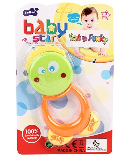 Baby Rattle Face Print