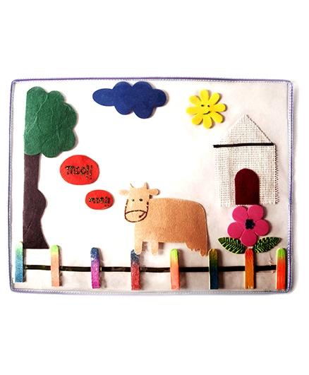 Lill Pumpkins Farm Table Mat - Multicolour