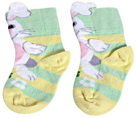 Socks - Rabbit Print