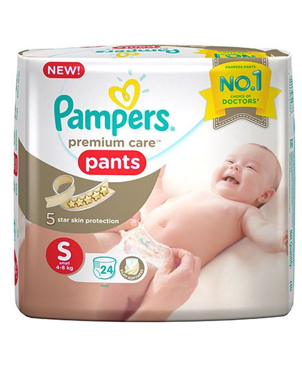 Pampers Premium Care Pants Small - 24 Pieces