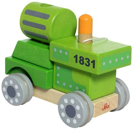 Sevi - Build Up Train Push & Pull Toy