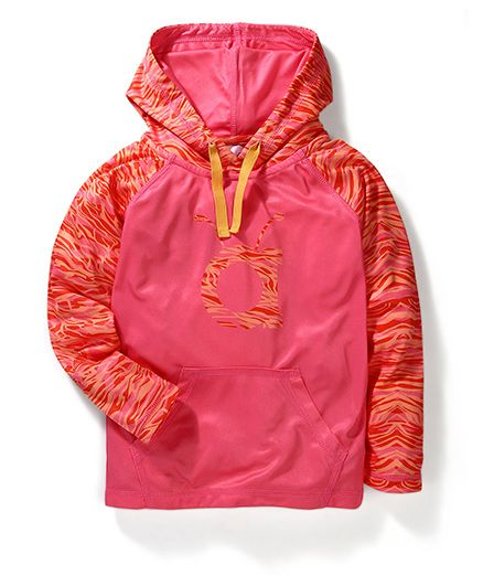 Anthill Tech Track Hooded Jacket - Pink