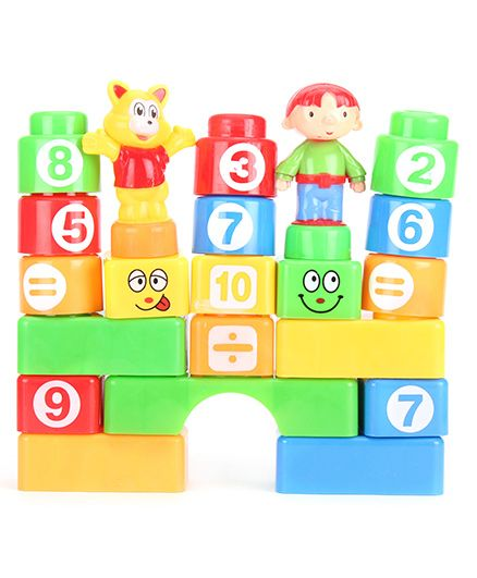 Block And Stacking Tower Game - Multi Color