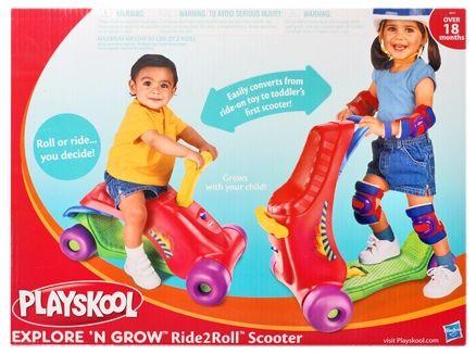 Playskool - Ride 2 Roll Scooter