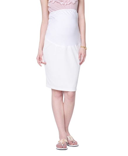 Mamacouture Maternity Ecru Skirt