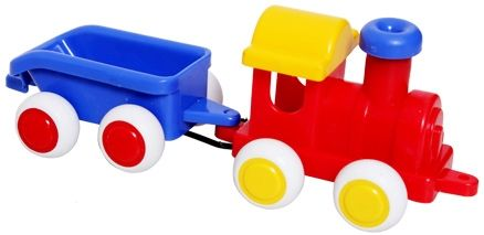 Viking Toys - Chubbies Train with Trailer