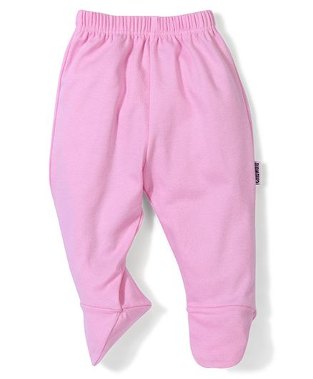 Child World Plain Bootie Leggings - Pink