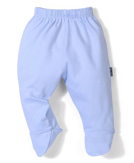 Child World Plain Bootie Leggings - Sky Blue