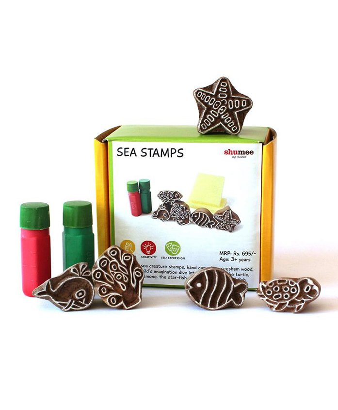 Shumee Under The Sea Stamp Set