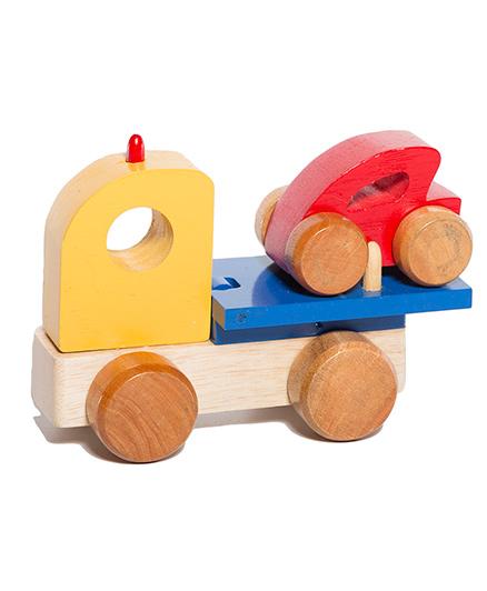 Shumee Wooden Tow Truck