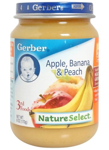 Gerber Apple, Banana & Peach