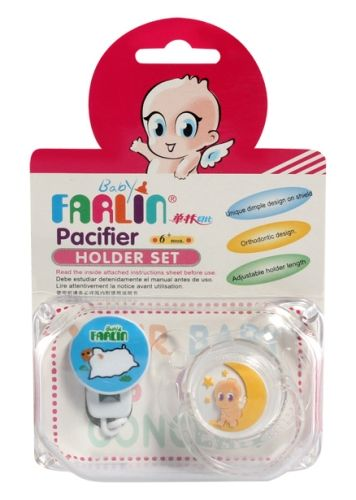 Farlin - Baby Pacifier Holder Set